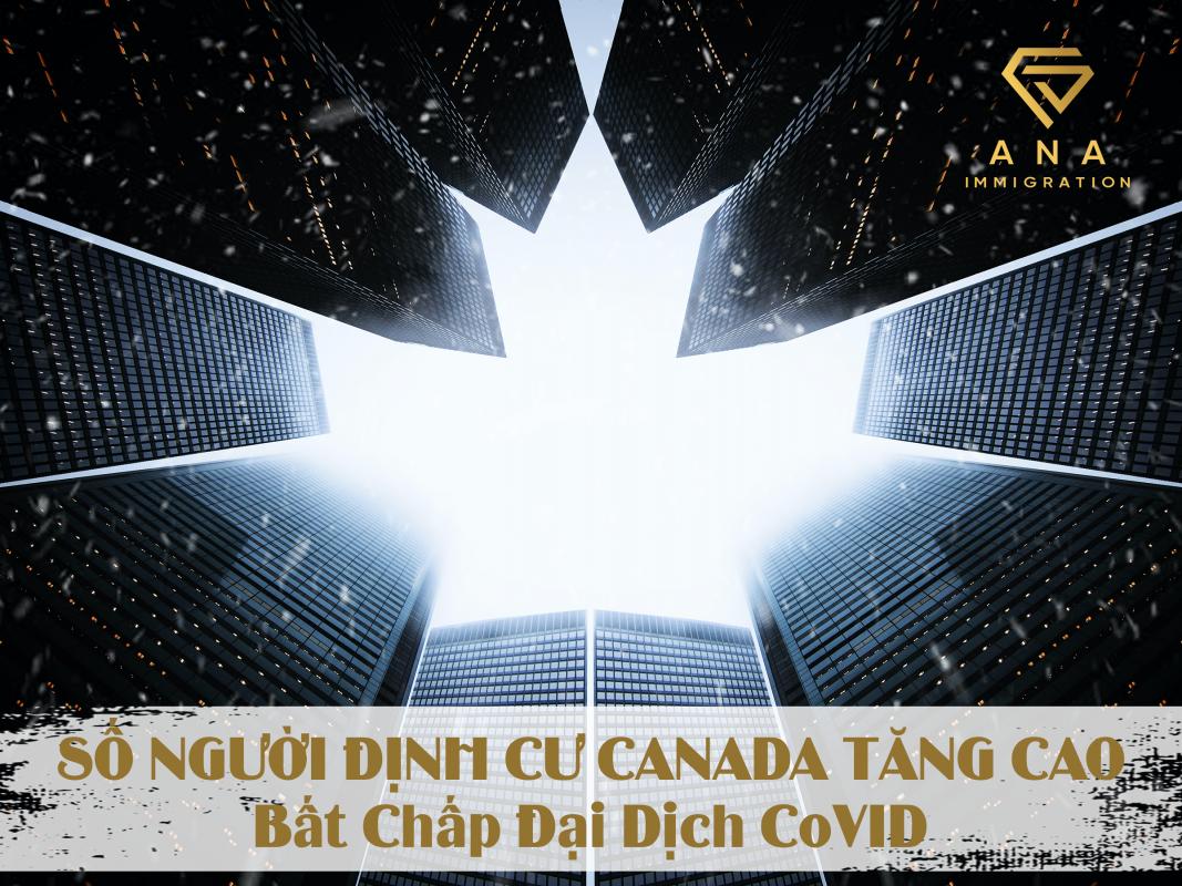 SỐ NGƯỜI ĐỊNH CƯ CANADA CAO BẤT CHẤP ĐẠI DỊCH COVID